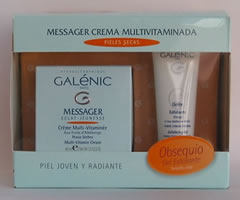 Pack Messager Gel-Crema Pieles Normales y Mixtas y Crema Pieles Secas + Gel Exfoliante 20 ml