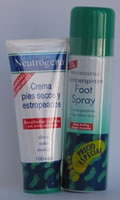 Neutrogena Duplo Cuidado Pies Crema 100 ml + Spray