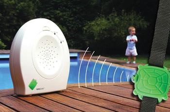Alarma sonora cuando la pulsera se moja. Ideal para piscina y playa