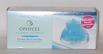 Galenic Ophycee Crema Pieles Secas + Mascarilla Rejuvenecedora 15 ml