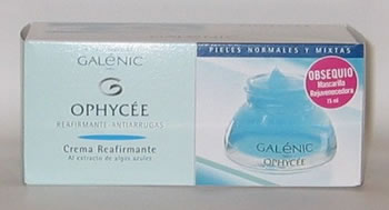 Galenic Ophycee Crema Pieles Norm. Mixtas + Mascarilla Rejuvenecedora 15 ml