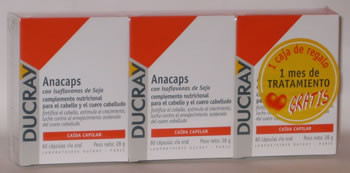 Ducray Anacaps Pack 3 x 2